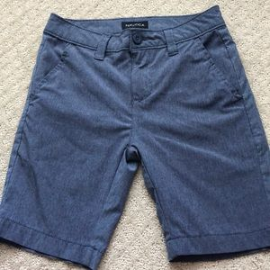 Boys Nautical performance wear shorts size 8